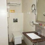 Bath Room @ room no 206 Akshay INN