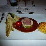 Cabbage-wrapped veal fillet