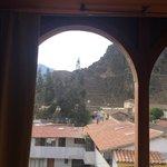 Vista da janela quarto 12 - ruínas ao fundo