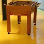 A foosball table!