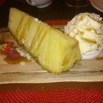My stunning pineapple and coconut pavlova