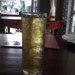 one 2.000 VND ice tea