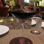 Justin Winery Cabernet Sauvignon - ( Enjoying a Glass at Bistro Napa Atlantis Casino)