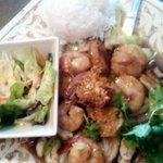Garlic Seafood Entree