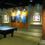 UNC Themed Sport Bar & Lounge