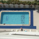 Pool from the balcony