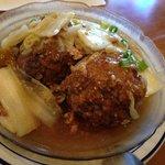 Braised pork ball in brown sauce 獅子頭
