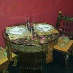 Tavolino e sedie basse