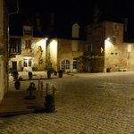Cobbled square in Turenne