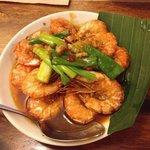 Buttered shrimp... The best!