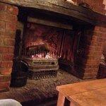 Lovely open fire