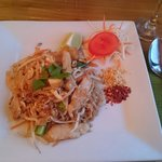 Lovely Chicken Pad Thai