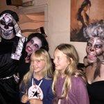 Brilliant atmosphere Halloween, fab food, wine & tapas