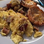 "The ""English Scramble"" at Squaretoe's"