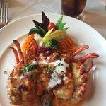 Stuffed Lobster! A must!