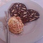 Salame al cioccolato più mascarpone