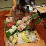 Massive Sashimi Boat for 4