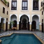 Main courtyard/pool area