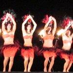 The hula dancers