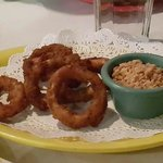 Calamari, sorry I couldn't wait so I ate a lot of it before I took the photo hahaha