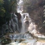 Kuang Si Falls ... one of the great Luang Prabang attractions.