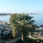 Vue de la terrasse côté mer