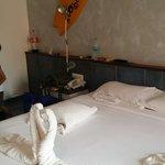 Spacious room, super clean, nice regulated desired water pressure, good fixtures in bathroom, vi