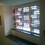 Window in stairway