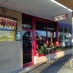Look for this small storefront for 84 Thai in shopping center