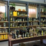 Kibbutz Olive Oil shop