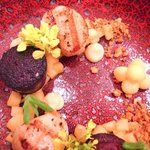 Starter: Scallops and Black Pudding