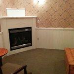 Room 133 basement fireplace