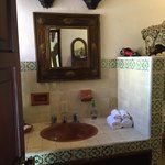 Bathroom with toiletries included