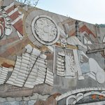 Beautiful wall sculptures reflecting the history pof China