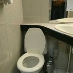 Toilet too close to wall