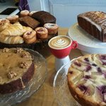 Amazing fresh cakes and perfect coffees