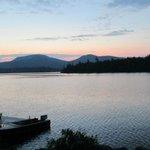 Blue Mountain Lake Boat Livery Foto
