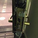 Door to the luxe room