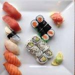 Assortiment de Sushis, California Makis, Makis au saumon