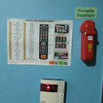 Guide on how to Use the Universal Remote Control and Emergency Flashlight