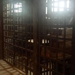 The jail cells