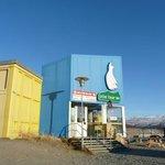 Outside the Polar bear Inn