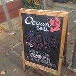 Specials at the Ocean Grill