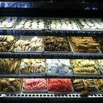 a array of Italian cookies....