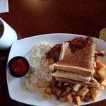 Hot made to order breakfast Included in our rate