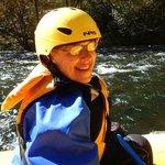 Terri rafting
