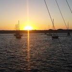 Gorgeous Morro Bay Marina at sunset