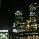Canary Wharf - Outside Hotel