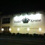 Ночная подсветка отеля