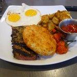 A la carte Steak 'n' Eggs